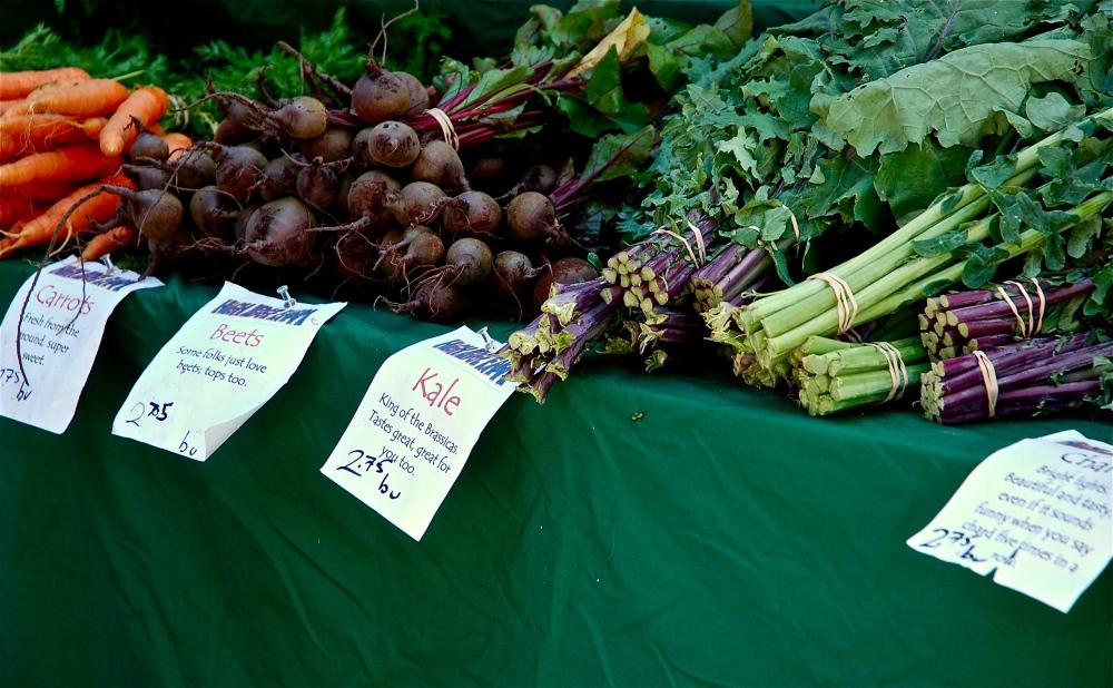 Tomorrow is Farmer's Market day!