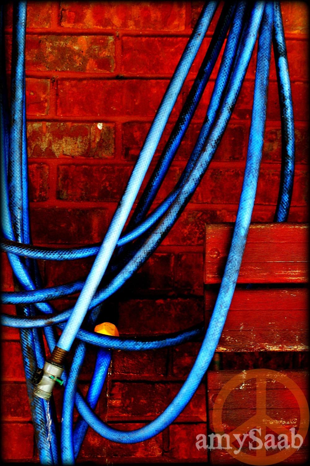 can you call a blue hose art?