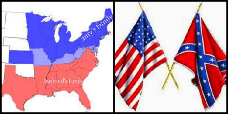 north vs south