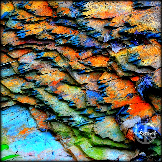 up the color to see the mineral deposits