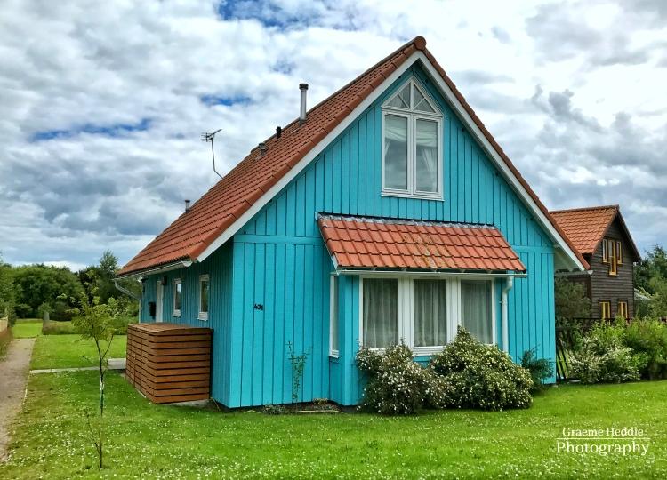 Eco house at the Findhorn Foundation, Highlands 2