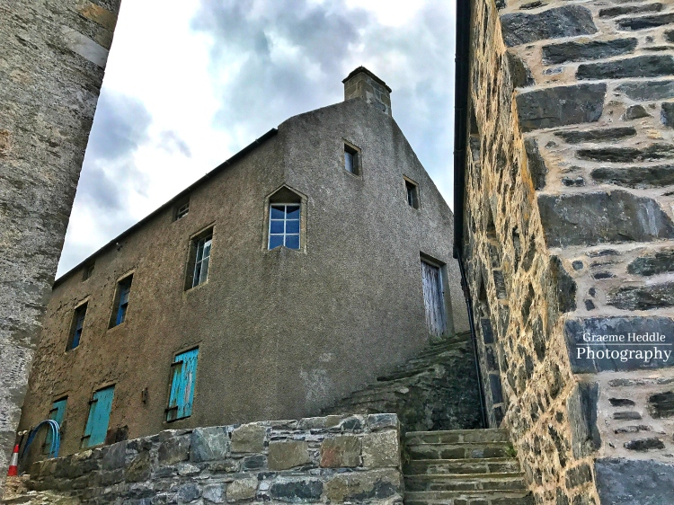 Portsoy harbour buildings, Moray