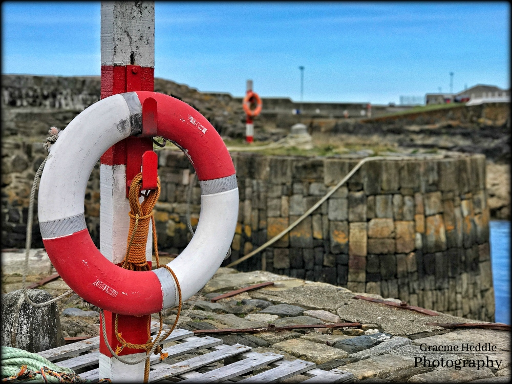 Portsoy Harbour, Moray
