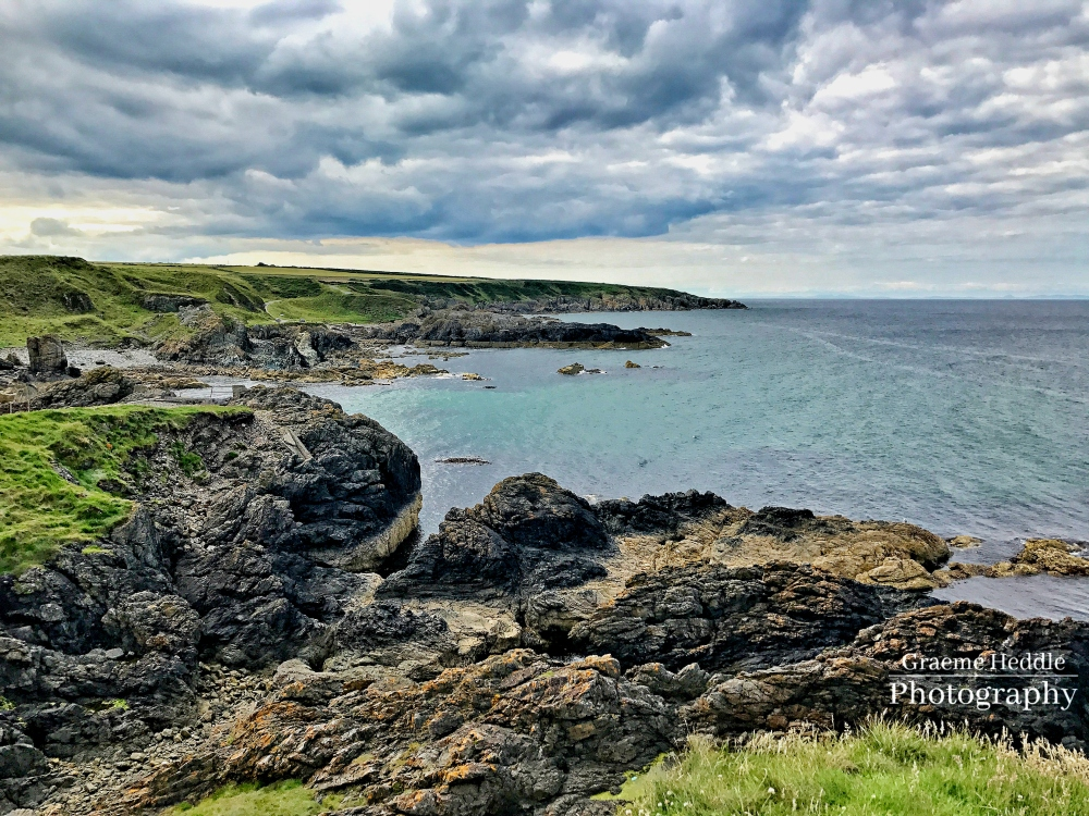 The shore at Portsoy, Moray
