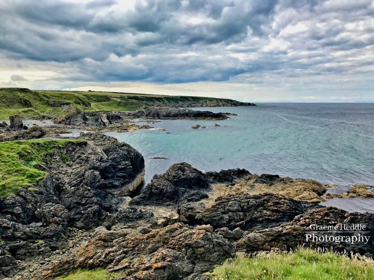 The shore at Portsoy, Moray